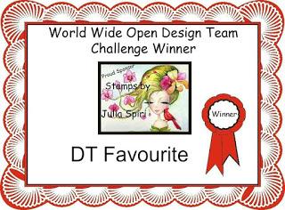DT Favourite Winner Certificate World Wide
